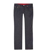 Billionaire Slim Fit Logo Pocket Jeans Male