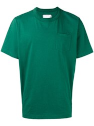 Sacai Plain T Shirt Green