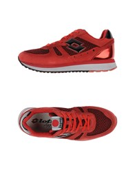 Lotto Leggenda Footwear Low Tops And Trainers Women Red