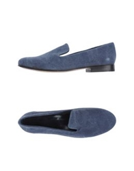 C.B. Made In Italy Moccasins Slate Blue