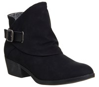 Blowfish Sill Ankle Boots Black