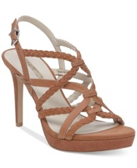 Bcbgeneration Emmi Strappy Dress Sandals Women's Shoes Ginger