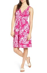 Tommy Bahama Fronds With Benefits Dress Bright Blush