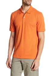 Victorinox Short Sleeve Tailored Fit Polo Orange