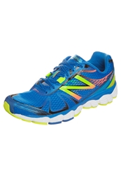 New Balance M880 Cushioned Running Shoes Blue Yellow By