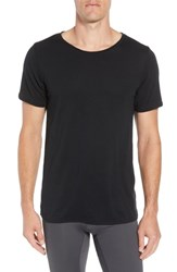 Alo Yoga Ultimate T Shirt Solid Black Triblend