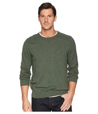 Nautica Solid Crew Neck Sweater Pine Forest Heather Green