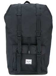 Herschel Supply Co. 'Little America' Backpack Unisex Polyester Polyurethane One Size Black