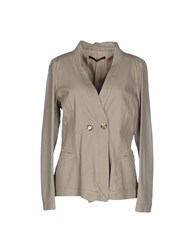 Annarita N. Suits And Jackets Blazers Women Grey