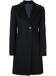 Tonello Single Breasted Coat Blue