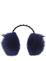 Mcm Labbit Headphones With Fox Fur