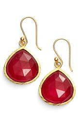 Sonya Renee Women's Sonyarenee 'Nicole' Drop Earrings Pink Jade
