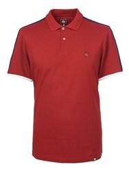 Pretty Green Men's Tilby Moon Polo Red