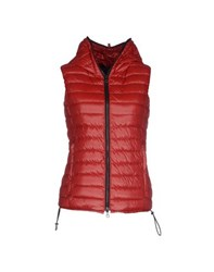 Duvetica Coats And Jackets Down Jackets Women Red
