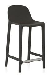Emeco Broom 24 Counter Stool Gray