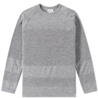 Norse Projects Ville Summer Bubble Crew Knit Grey