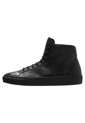 Frank Wright Logan Hightop Trainers Black