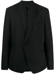 Haider Ackermann Single Breasted Blazer Black
