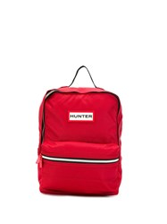 Hunter Small Logo Backpack Red