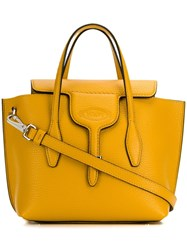 Tod's Joy Mini Tote Bag Yellow