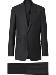 Burberry Slim Fit Formal Suit Grey