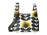 Orla Kiely Summer Flower Stem Midi Sling Bag Sunshine Handbags Yellow