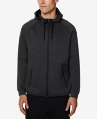 32 Degrees Men's Performance Hooded Sweatshirt Heather Black