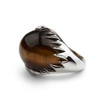 Kasun Eye Of Poseidon Ring Silver And Tigers Eye