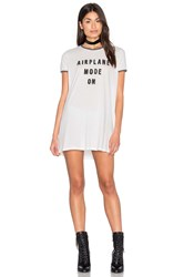 Minkpink Sleep Shirt Dress White