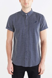 Publish Franklin Short Sleeve Button Down Shirt Navy
