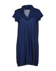 Anneclaire Short Dresses Dark Blue