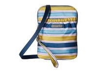 Baggallini Bryant Pouch Tropical Stripe Cross Body Handbags Navy