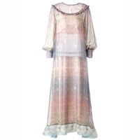 Supersweet X Moumi Pearl Dress Pink Purple Nude