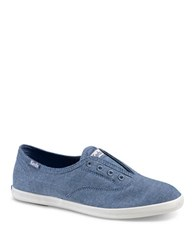 Keds Chillax Canvas Slip On Sneakers Blue