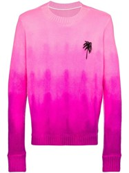 The Elder Statesman Gradient Dyed Palm Tree 60