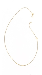 Blanca Monros Gomez Chain Lavalier Necklace Gold