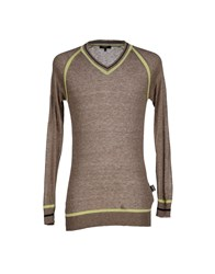 Cnc Costume National C'n'c' Costume National Knitwear Jumpers Men Khaki