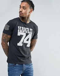 Replay Hawaii 74 T Shirt Washed Black