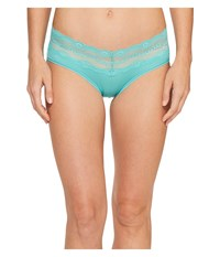 B.Tempt'd B.Adorable Hipster Blue Turquoise Women's Underwear