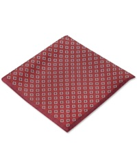 Ryan Seacrest Distinction Pacific Geo Pocket Square Only At Macy's Wine