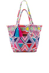Seafolly Carried Away Oversized Tote Pink
