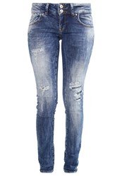 Ltb Molly Slim Fit Jeans Felice Wash Destroyed Denim