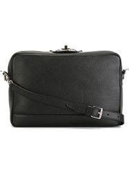 Max Mara Zipped Crossbody Bag Black