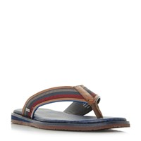 Ted Baker Knowlun Tape Top Post Sandals Tan