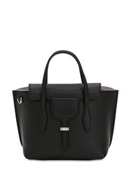 Tod's Small Leather Top Handle Bag Black