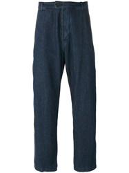 Universal Works Loose Fit Jeans Blue