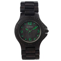 Wewood Kale Wood Watch Black Green