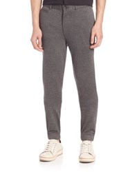 Saks Fifth Avenue Knit Trousers Grey