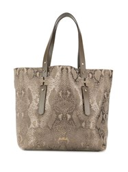 Hogan Large Tote Bag Neutrals