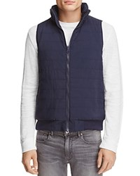 Sovereign Code Reversible Quilted Vest Borden Navy